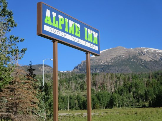 Alpine Inn : Sign