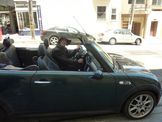 Small Car Big Time Tours : Reed and the BMW Mini