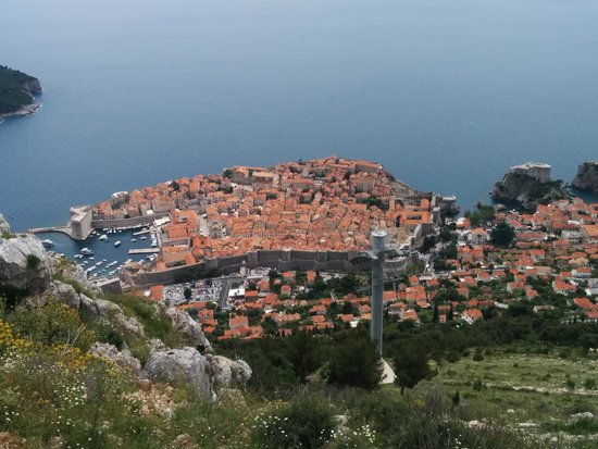 Funiculaire de Dubrovnik : View from cable car