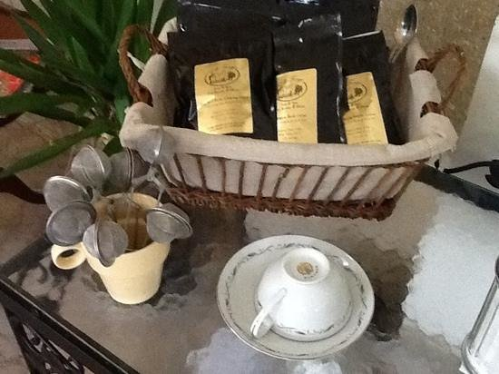 Elk Forge B&B Inn, Retreat and Day Spa: gourmet teas
