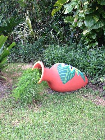 Occidental Cozumel: hotel grounds