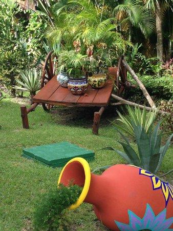 Occidental Grand Cozumel : outside grounds