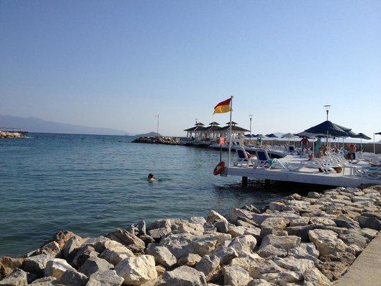 La Blanche Resort & Spa : Alentour de la plage