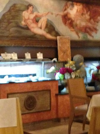 Occidental Cozumel: one cafe we ate at