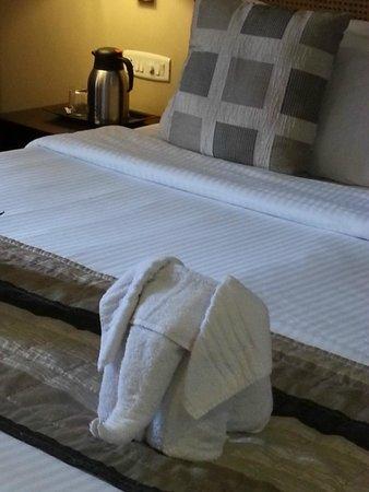 Club Mahindra Munnar: Nice bed