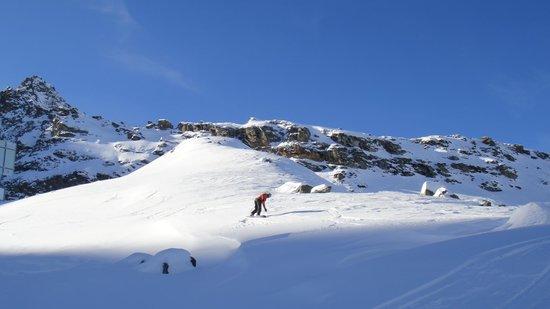 Club Med Cervinia: montanha