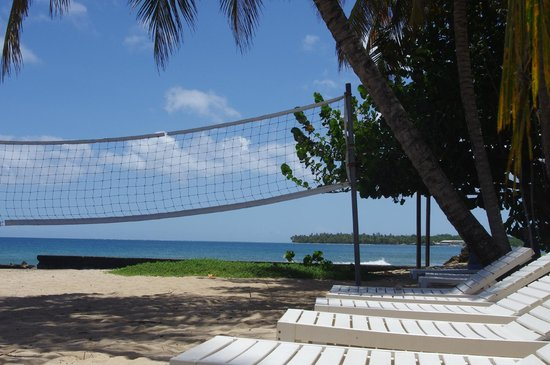 Sandy Point Beach Club: View of Pigeon Point