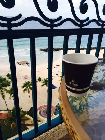Hilton Barbados Resort: Beautiful view! Stay on the 8th floor