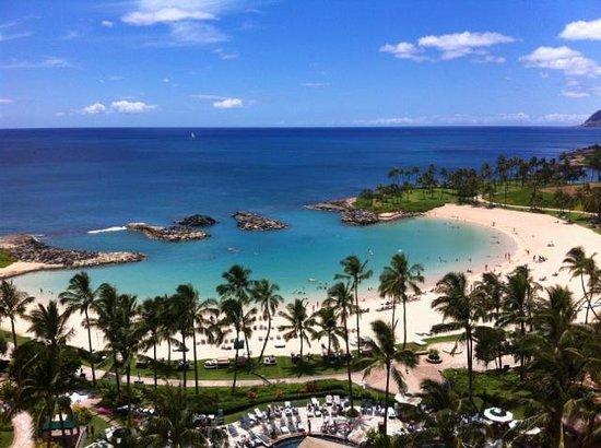 Marriott Ko Olina Beach Club: View from Room - Lagoon #3