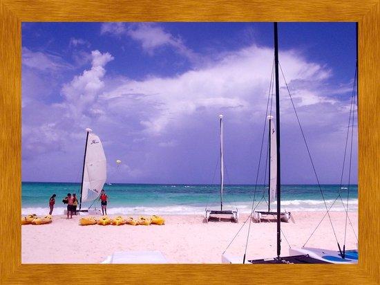 Iberostar Paraiso Beach: Beach view