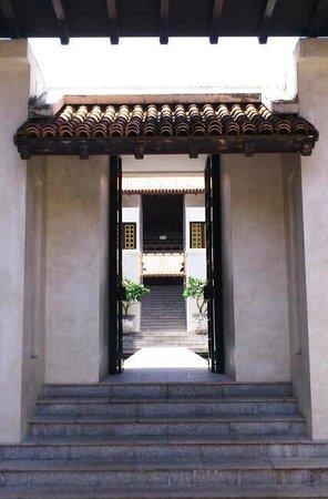 Le Meridien Koh Samui Resort & Spa : 謎めいたホテルのアプローチ