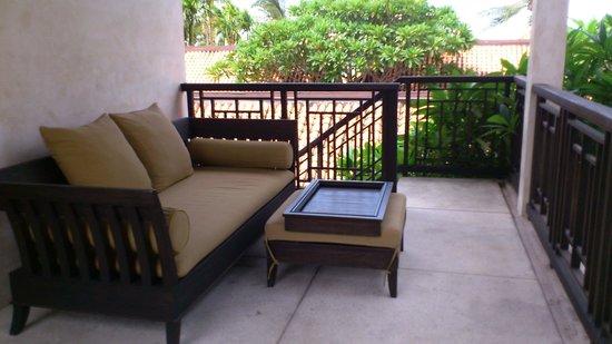 Le Meridien Koh Samui Resort & Spa : テラス