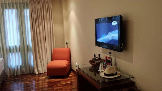 Termales el Otono: panoramica habitacion