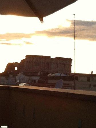 Capo d'Africa Hotel: Terrasse du restaurant