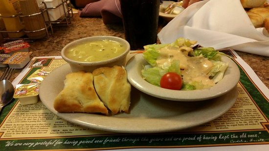 Mrs. Knott's Chicken Dinner Restaurant : Included with chicken dinner