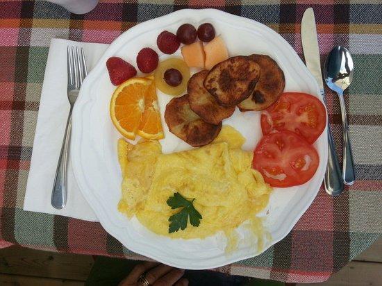 Gite Escale au Presbytere : L'omelette au fromage