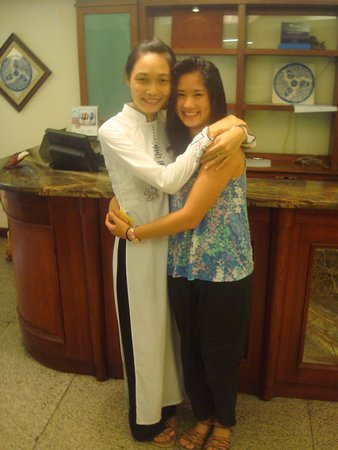 Hanoi Charming 2 Hotel: With Oanh (Mary), my Vietnamese big sister