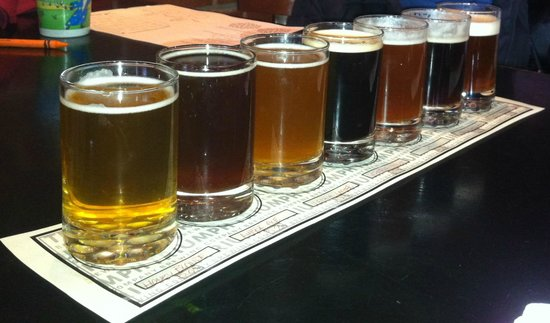 Triumph Brewing Co of New Hope : Beer Sampling