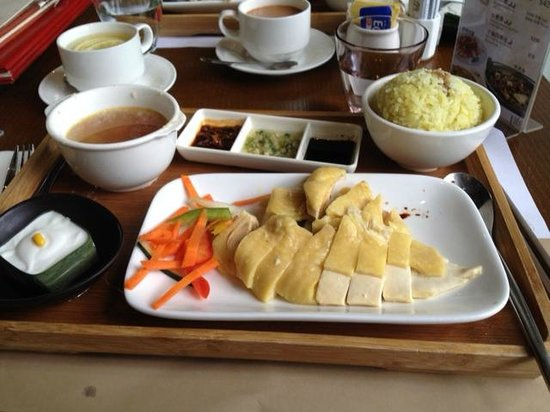 L16 Cafe and Bar: Chicken Rice Set Lunch