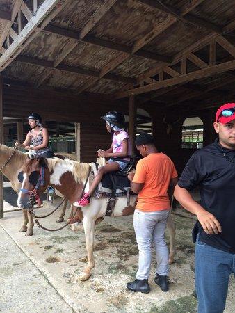 Carabali Rainforest Park: Helping kids saddle up