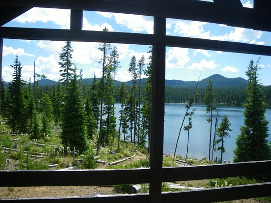Olallie Lake Resort : View from front porch