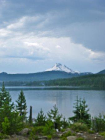 Olallie Lake Resort : Mtn View