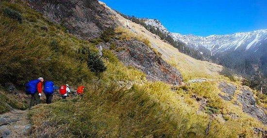 Oudo Explore Nantou Yu Montian Climbing