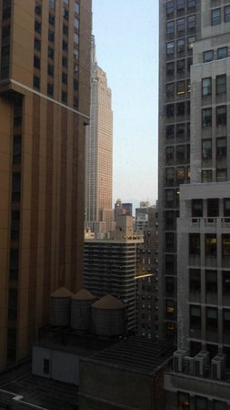 Courtyard New York Manhattan/Times Square: View of empire state from Hotel room window