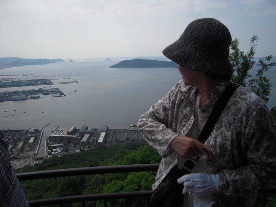 Yashima-ji Temple: 瓦を投げます