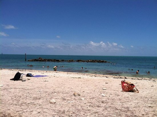 Fort Zachary Taylor Historic State Park: Beautiful Beach day