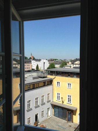 Institut St Sebastian: View from my room