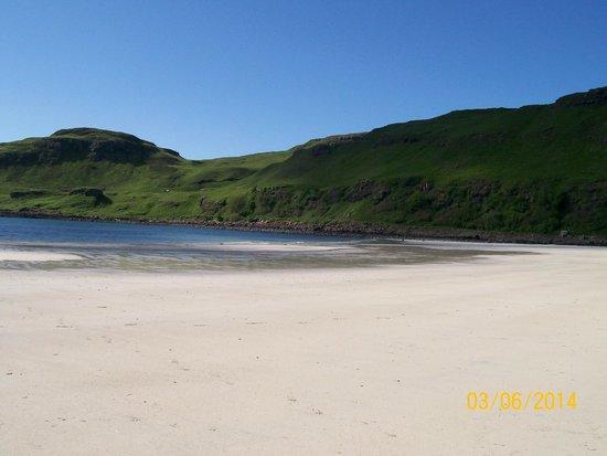 Claigan Coral Beach: isle of mull -scotland ,beautiful and remote