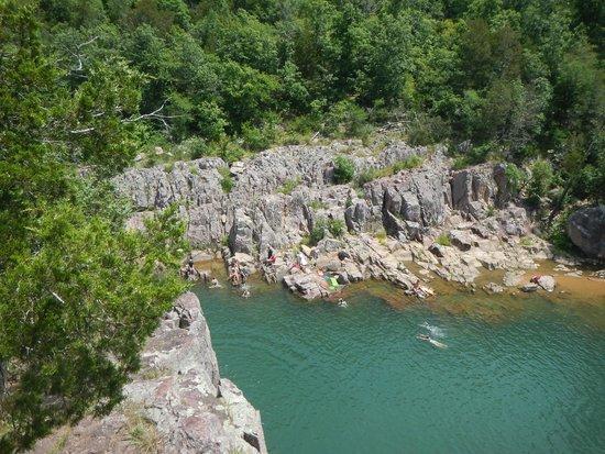 Deep part of Johnson's Shut-ins State Park