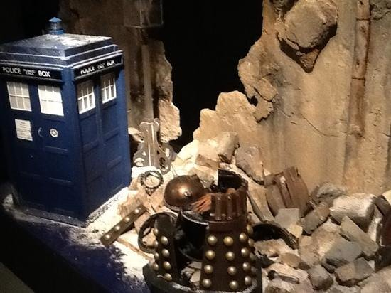 Doctor Who Experience Cardiff Bay: Loved the props!
