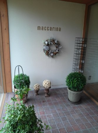 Restaurant Maccarina : エントランス