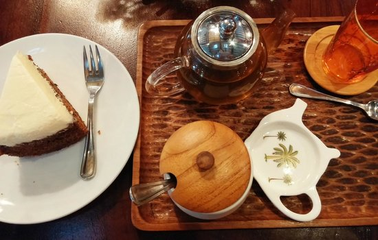 Biku Cafe: Afternoon tea
