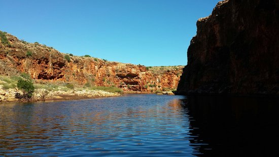 Turquoise Bay: Yardie Creek is just magnificent