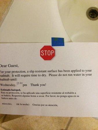Renaissance Tulsa Hotel & Convention Center : Note about Shower