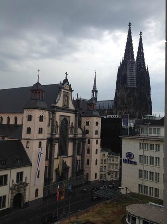 Hilton Cologne: View from our room