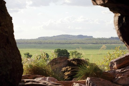 Looking out over the wetland from Ubirr Rock