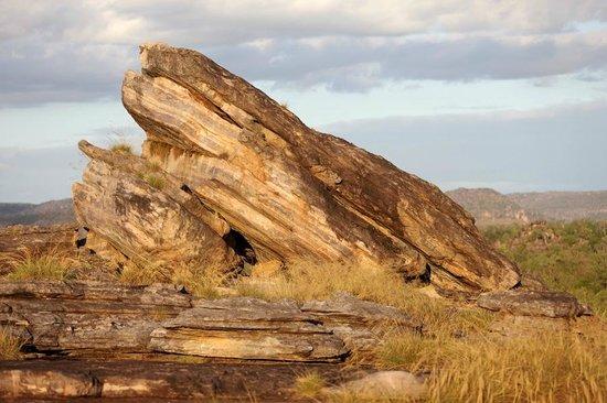 """Ubirr: A formation we nicknamed """"frog rock"""""""