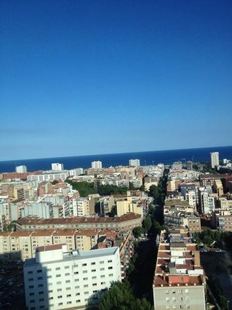The Level at Melia Barcelona Sky: view from my room
