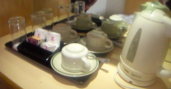 Kimberley Hotel: Room amenities