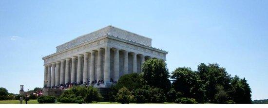 Lincoln Memorial: Lincoln-Memorial view 1