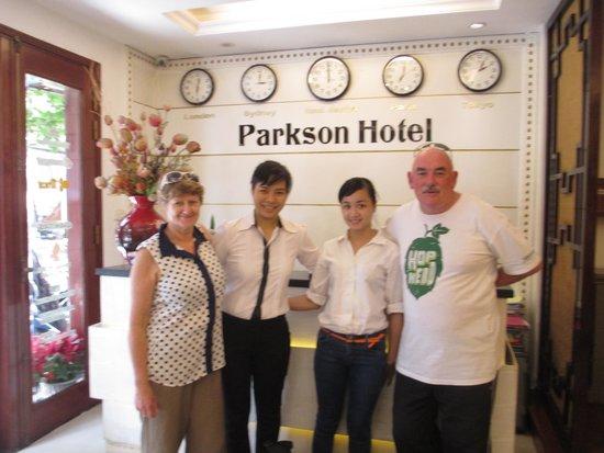Parkson Hotel Hanoi: Staff are the Stars