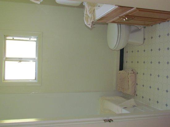 Americas Best Value Inn Villa Motel: Older bathroom, but everything works