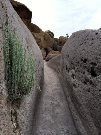 Tsankawi: Part of the ancient footpaths