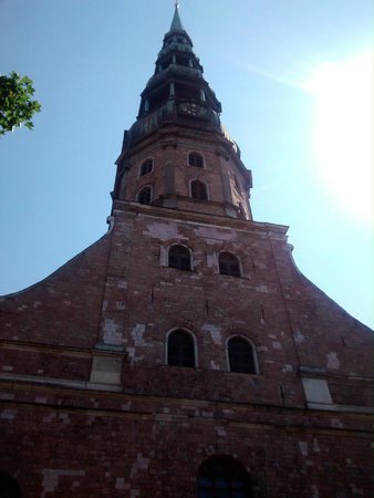 Riga Free Tour : St. Peters Church, Riga