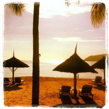 Evason Ana Mandara Nha Trang : Dawn view from our room