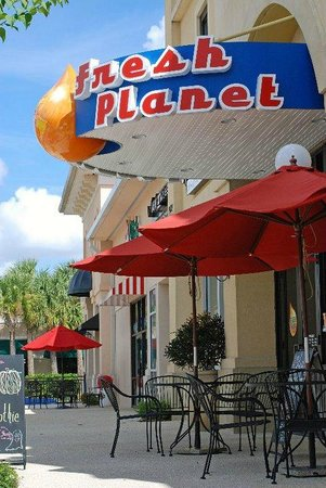 Fresh Planet Gulf Coast Town Center Ft Myers Fl Picture Of
